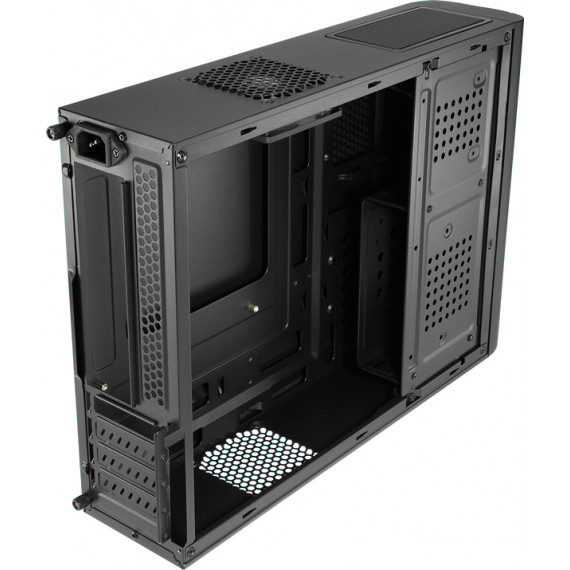 GENERIQUE Tacens Orum III Mini-tour micro ATX pas d'alimentation noir mat, noir brillant USB-Audio