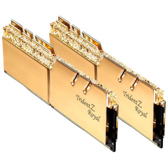 GSKILL Trident Z Royal 16 Go (2x 8 Go) DDR4 3000 MHz CL16