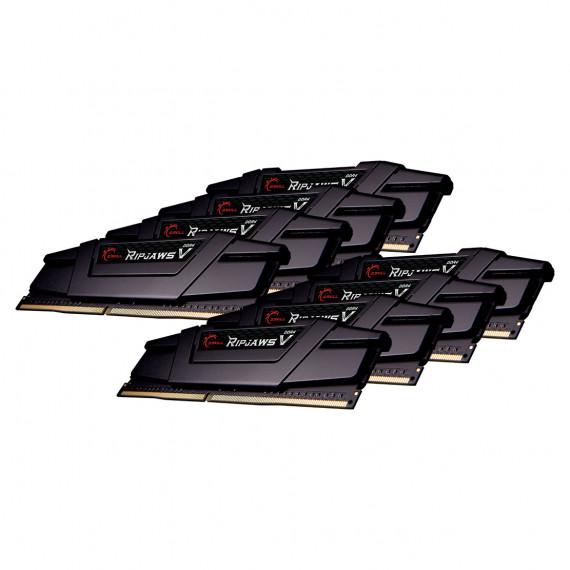 GSKILL RipJaws 5 Series Noir 64 Go (8 x 8 Go) DDR4 3600 MHz CL14
