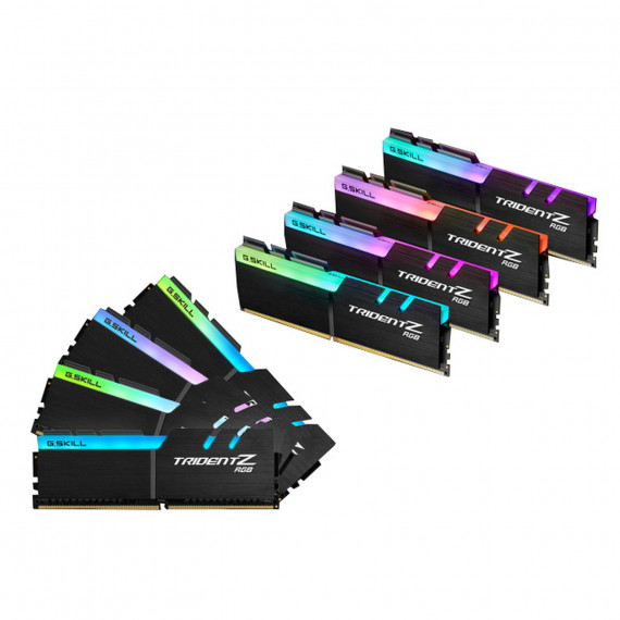 GSKILL Trident Z RGB 64 Go (8 x 8 Go) DDR4 4000 MHz CL15