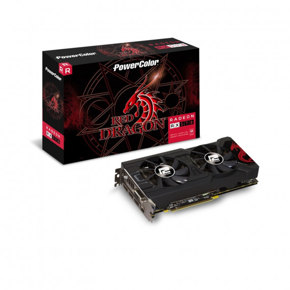 PowerColor Radeon RX 570 Red Dragon  4096 MB GDDR5