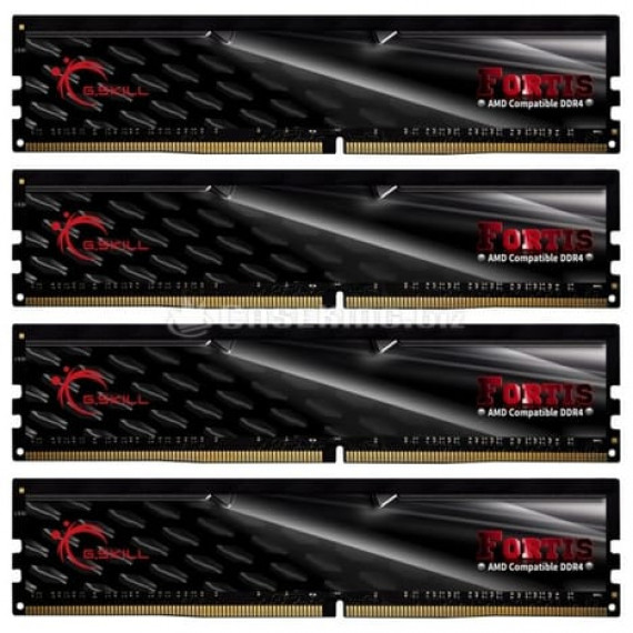 GSKILL Fortis Series 64 Go (4x 16 Go) DDR4 2400 MHz CL15