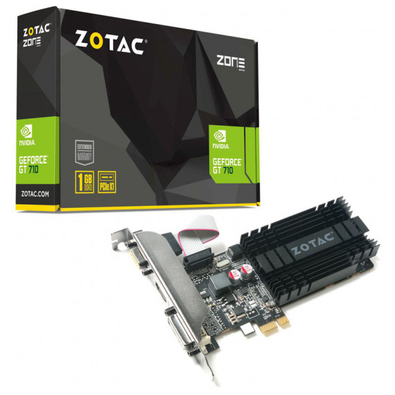 ZOTAC GeForce GT 710,1024 MB DDR3