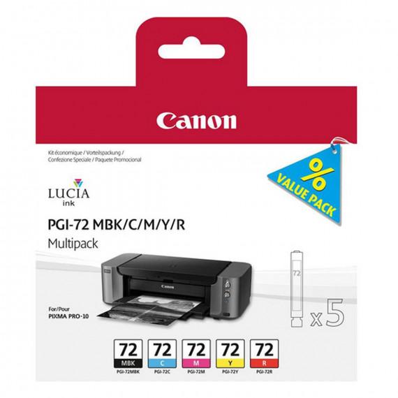 CANON PGI-72 MBK/C/M/Y/R