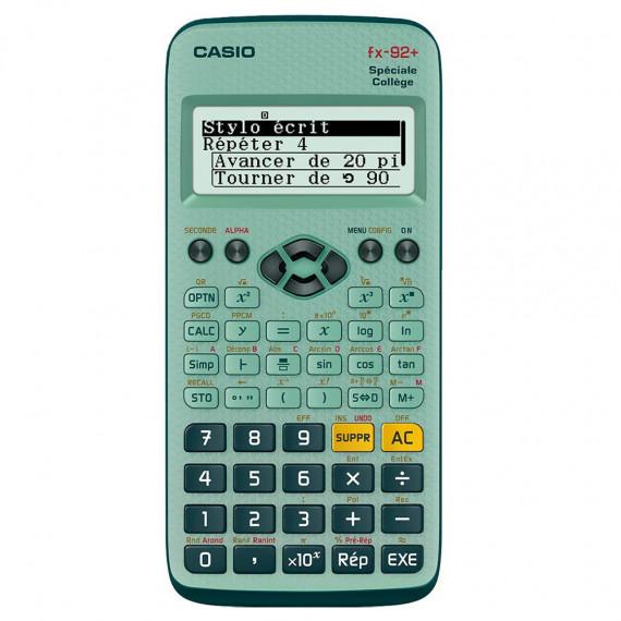 Casio Calculatrice scientifique spéciale Collège