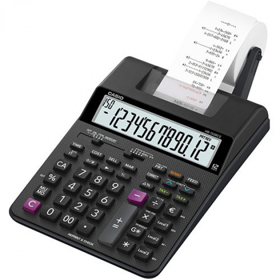 Casio Casio HR-150RCE - Calculatrice imprimante 12 chiffres