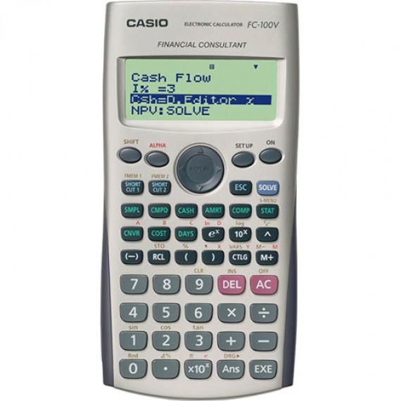 Casio Casio FC 100V - Calculatrice financière