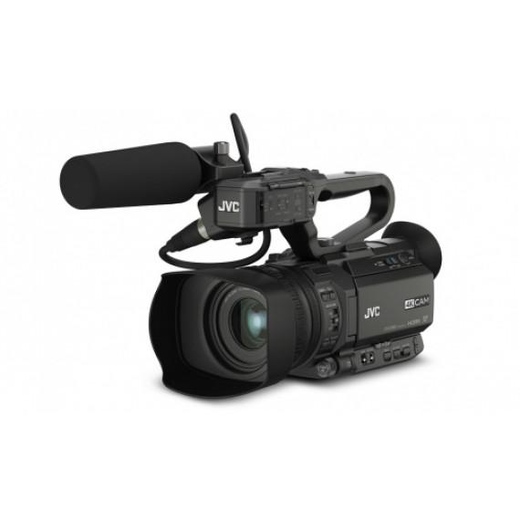 JVC JVC GY-HM170E - Caméscope 4K Ultra HD avec zoom optique 12x et HDMI