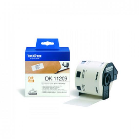 BROTHER DK-11209 - Etiquettes Adresse - 29 x 62 mm (pack de 800)