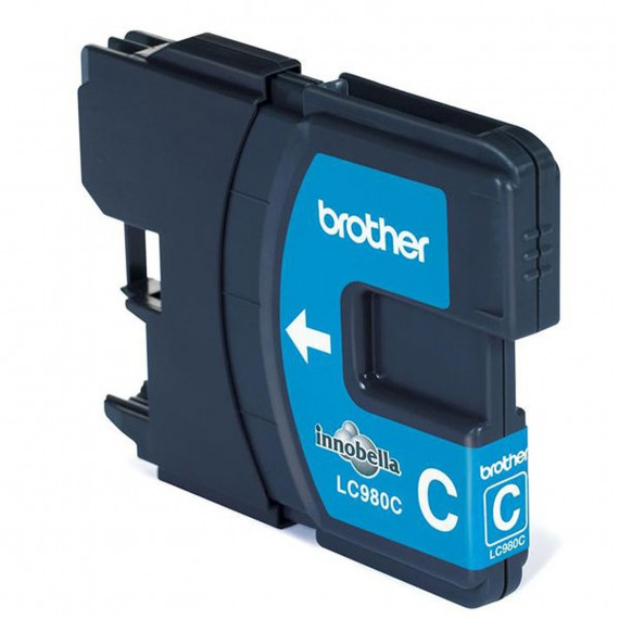 BROTHER Cartouche d'Encre  LC-980CBP – Cyan
