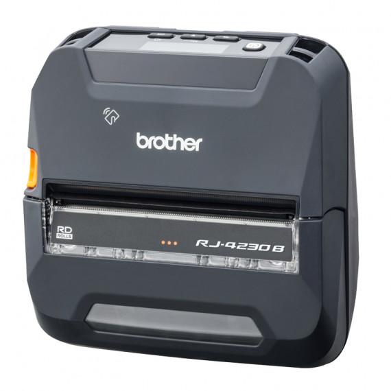 BROTHER Imprimante mobile 4 pouces Bluetooth pour reçus et étiquettes