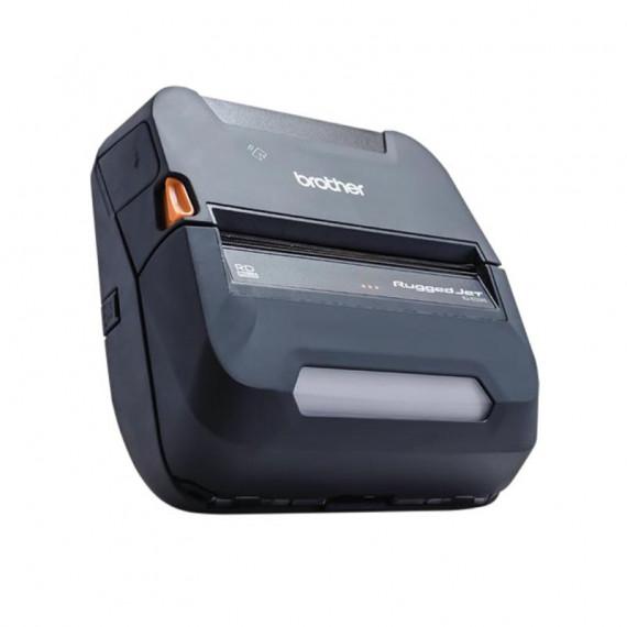 BROTHER Imprimante mobile RJ-4250WB 4 pouces Wi-Fi et Bluetooth pour reçus et étiquettes