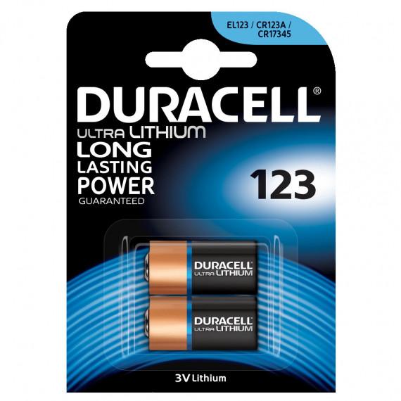 Duracell Duracell Ultra 123 Lithium 3V (par 2)