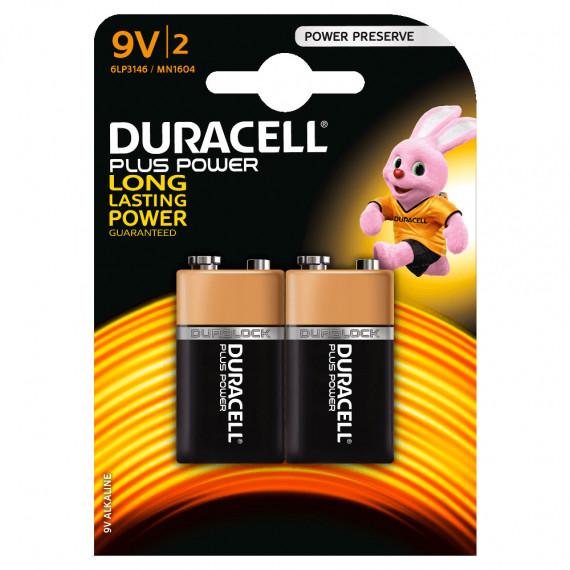 Duracell Plus Power 9V (par 2)