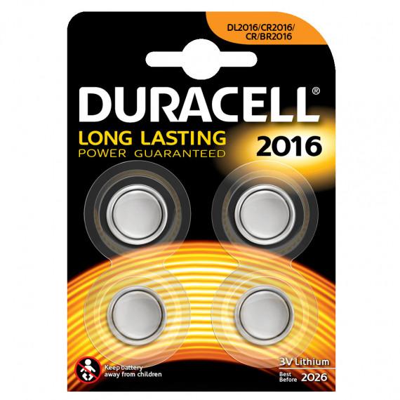 Duracell Duracell 2016 Lithium 3V (par 4)