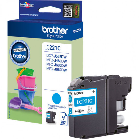 BROTHER LC221C