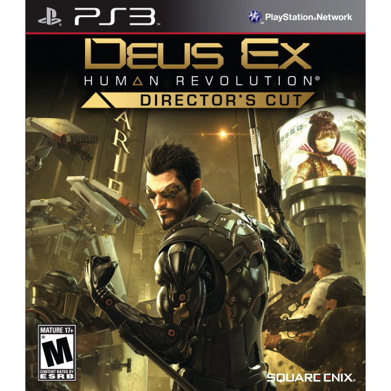 Square Enix Deus Ex: Human Revolution Director's Cut (PS3)