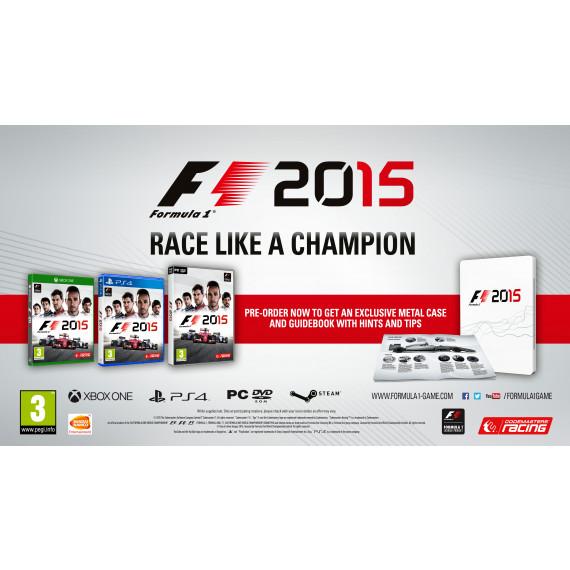 BANDAÏ F1 2015 (PS4) (Pré-commande - Sortie le 10 Juillet 2015)