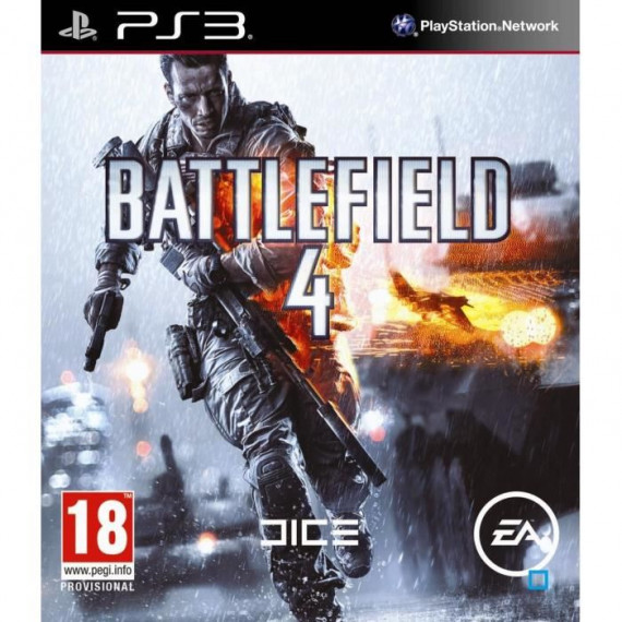 JUST FOR GAMES BATTLEFIELD 4 PS3