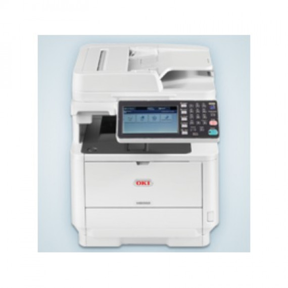 Imprimante Multifonction Oki MB562dnw hellgris, USB/(W)LAN, Scan, Copie, Fax