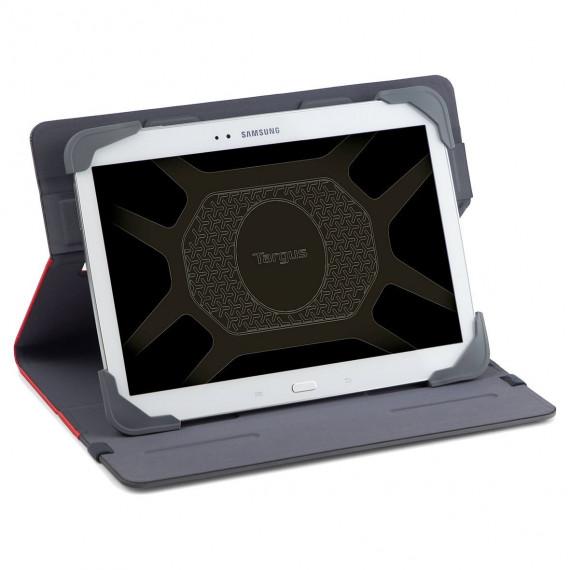 TARGUS Fit N  Grip 9-10inch Standard  Fit N  Grip 9-10inch Standard Universal Tablet Case Red
