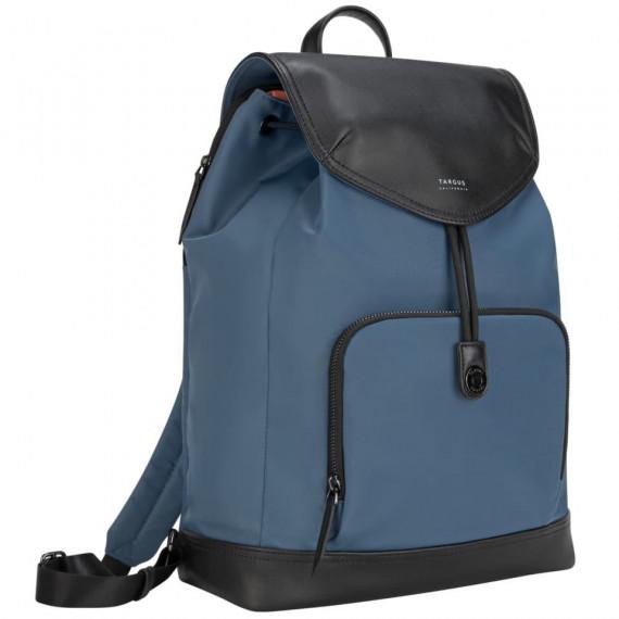TARGUS 15p Newport Drawstring BP Blue  15p Newport Drawstring Backpack Blue