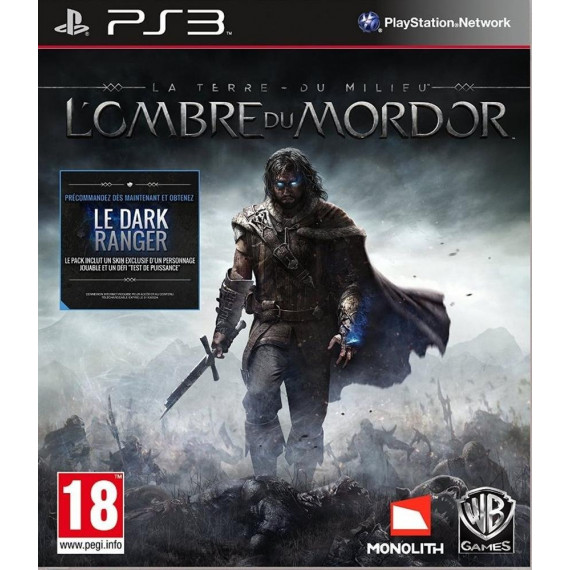 La Terre du Milieu : L'Ombre du Mordor  (PS3)