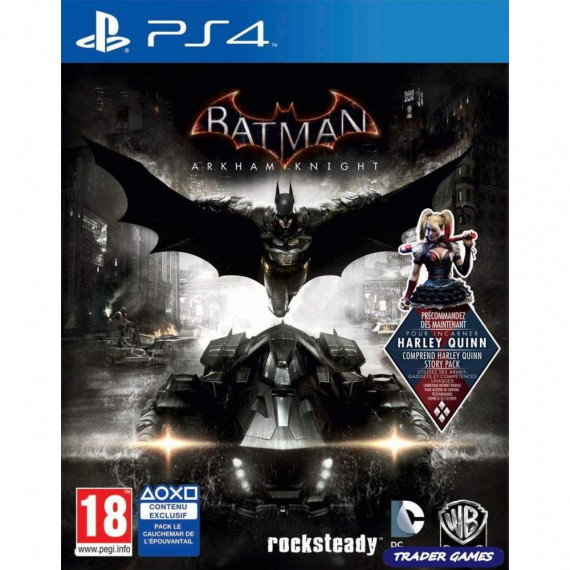Warner Bros. Games Batman : Arkham Knight (PS4)