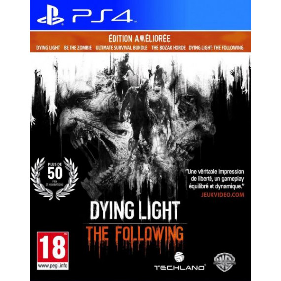 WARNER DYING LIGHT PS4