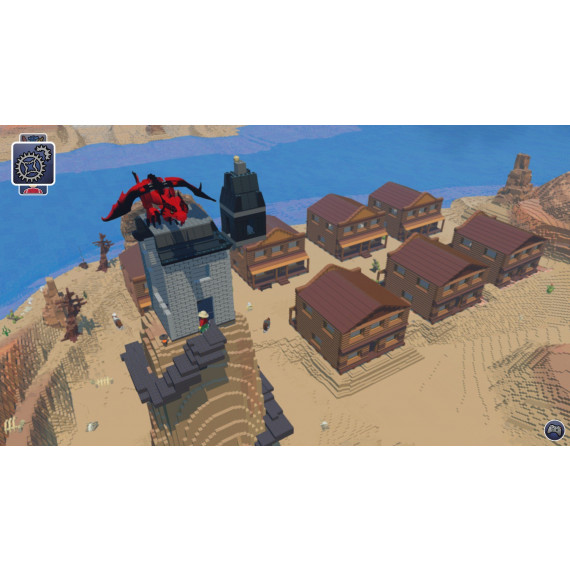 WARNER LEGO WORLDS - SD EDITION PS4