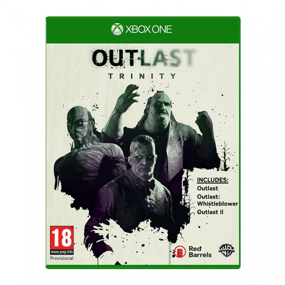Warner Bros. Games Outlast: Trinity (Xbox One) - Outlast II + Outlast + Outlast: Whistleblower