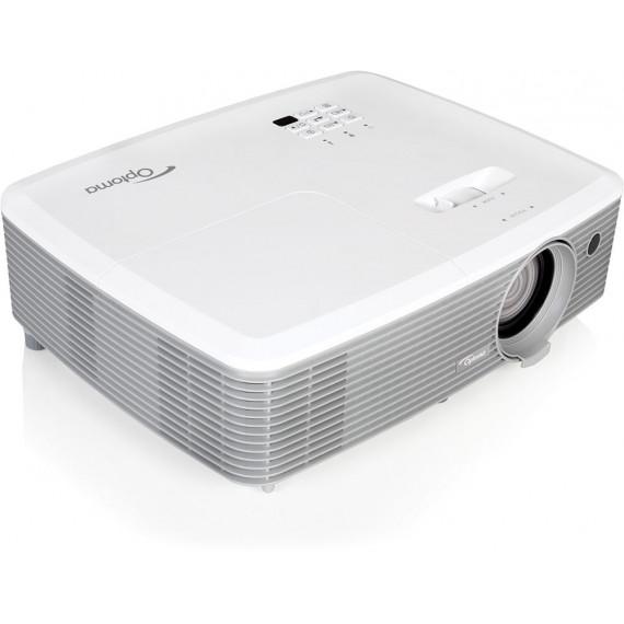 Optoma W400+ - Vidéoprojecteur DLP WXGA Full 3D 4000 Lumens HDMI/MHL/RJ45 et haut-parleur 10W (Garantie 2 ans sur site)