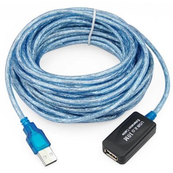 TRIXES Câble répéteur USB 2.0 type A mâle / femelle - 10 m