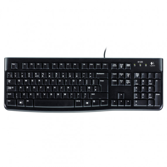 Logitech Keyboard K120 QWERTY for Business