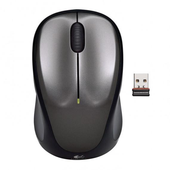 Logitech Wireless Mouse M235 (Gris)