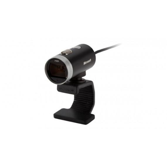 webcam Microsoft LifeCam Cinema noir / argent, certifié pour Windows 8 Vidéo: 1280 pixels 1x USB