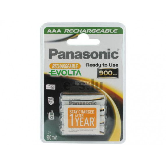 PANASONIC Rechargeable Evolta HHR-4XXE/4BC