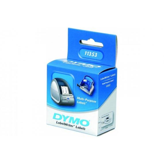 DYMO - Etiquettes multi-usage 24x12mm
