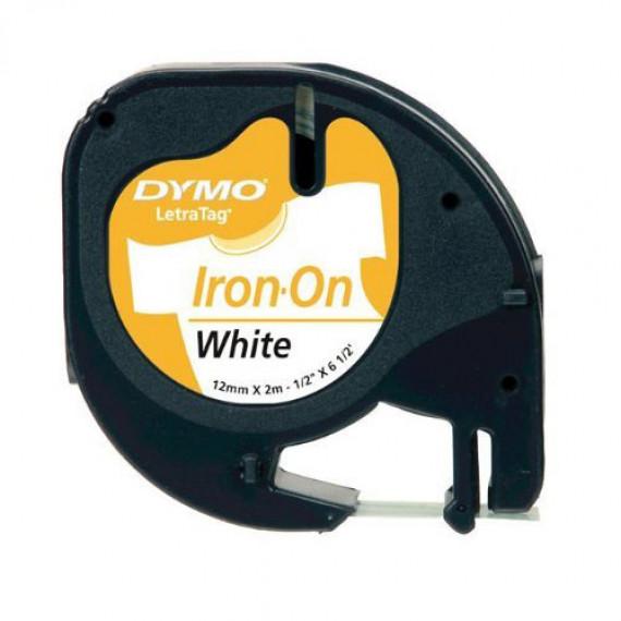 DYMO LetraTAG Transfert textile Noir/Blanc