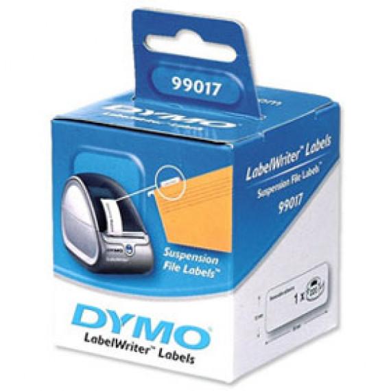 DYMO - 220 Etiquettes pour dossier suspendu 50 x 12 mm