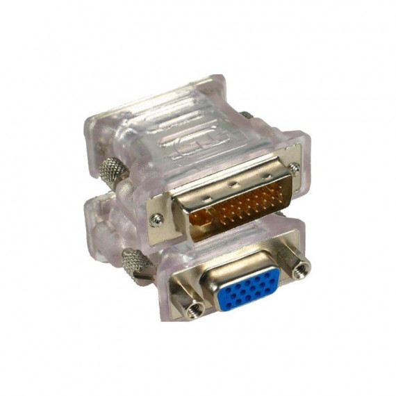 GENERIQUE Adaptateur DVI-I Dual Link mâle / VGA femelle