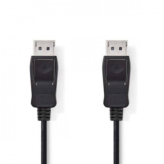 Nedis Câble DisplayPort DisplayPort Mâle - DisplayPort Mâle 2,0 m Noir