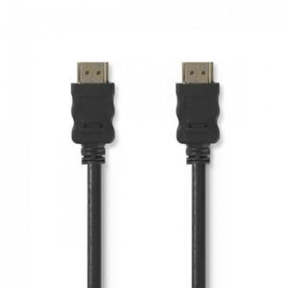 Nedis Nedis Câble HDMI haute vitesse avec Ethernet Noir (5 mètres)