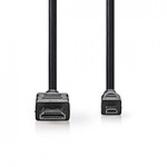 Nedis Nedis Câble Micro HDMI mâle / HDMI mâle haute vitesse avec Ethernet Noir (1.5 mètre)