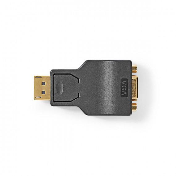 Nedis Adaptateur DisplayPort vers VGA DisplayPort Mâle - VGA Femelle