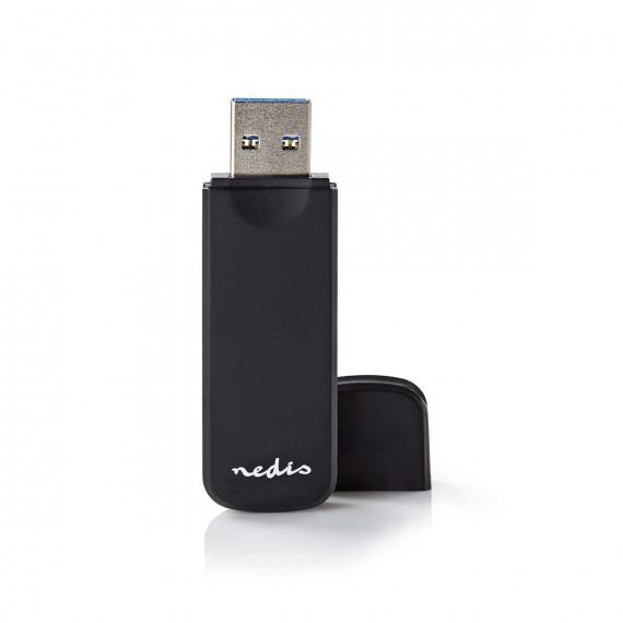 Nedis Nedis Lecteur Multicartes USB 3.0 (CRDRU3100BK)