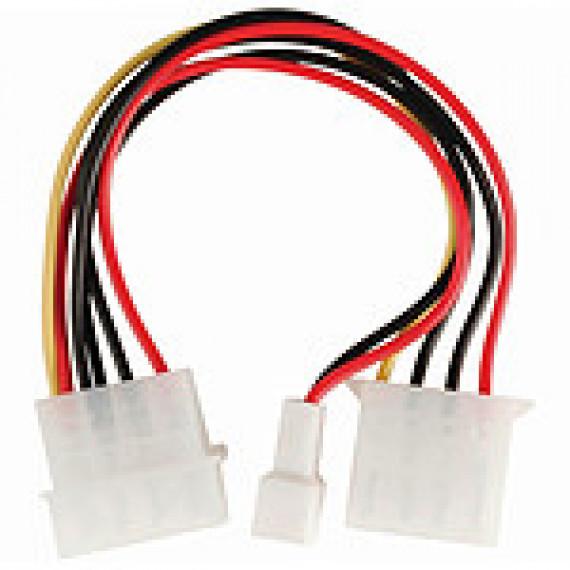 Nedis Nedis Adaptateur d'alimentation Molex mâle vers Molex femelle + Connecteur ventilateur 3 broches