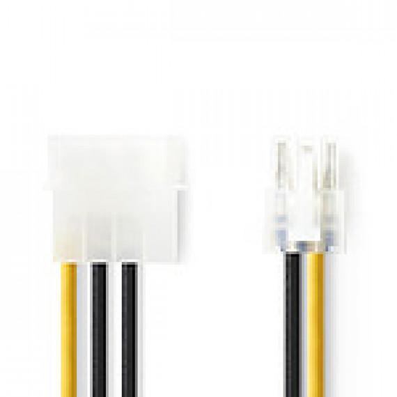 Nedis Nedis Adaptateur d'alimentation Molex vers PCI-E 6 Broches