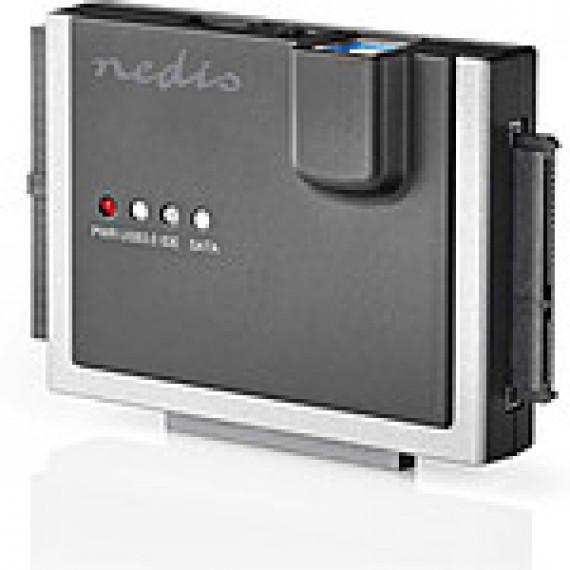 "Nedis Nedis Adaptateur USB 3.0 vers IDE/SATA pour HDD/SSD 2.5""/3.5"""