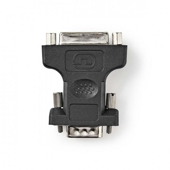 Nedis Adaptateur VGA vers DVI VGA Mâle - DVI-I Femelle à 24 +5 Broches Noir